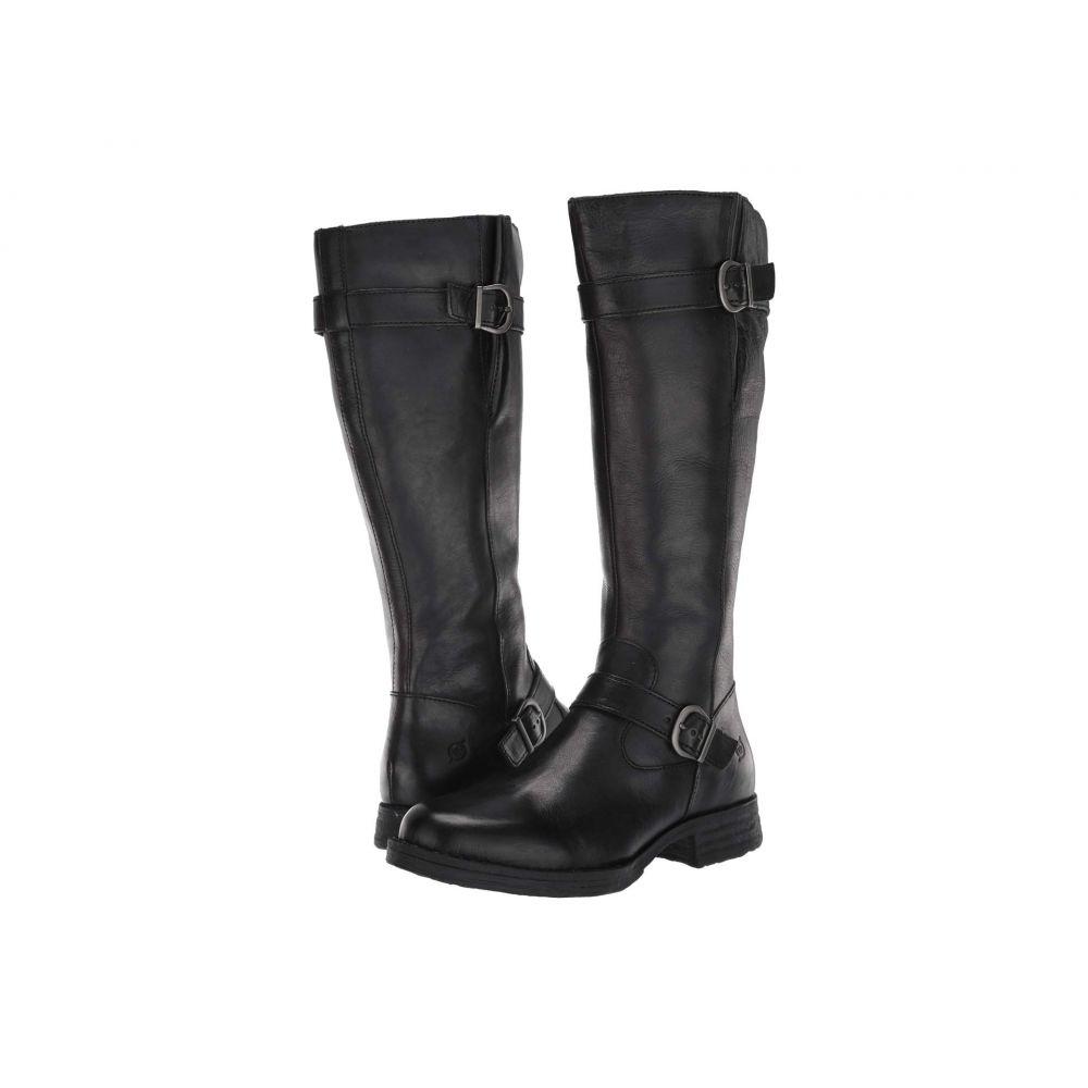 ボーン Born レディース ブーツ シューズ・靴【Pointe】Black Full Grain Leather
