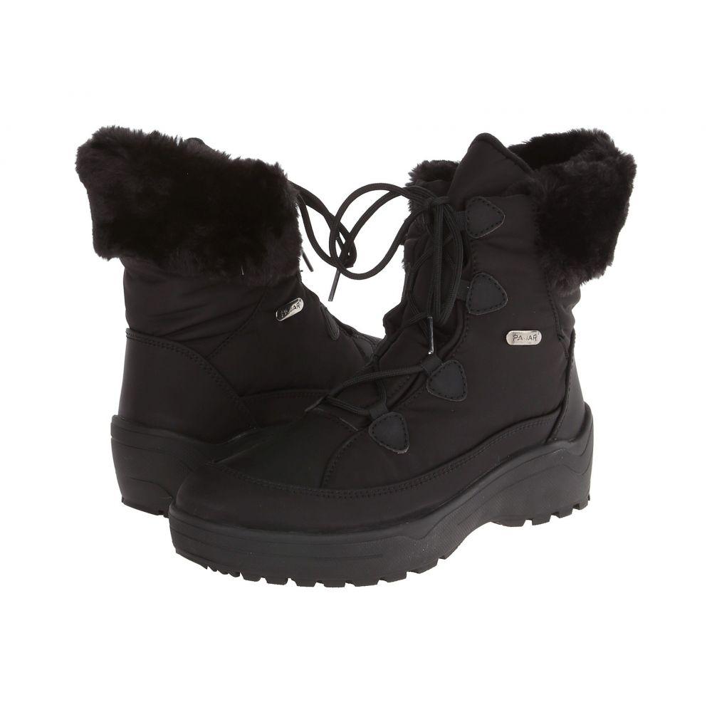 パジャー Pajar CANADA レディース ブーツ シューズ・靴【Lacey】Black
