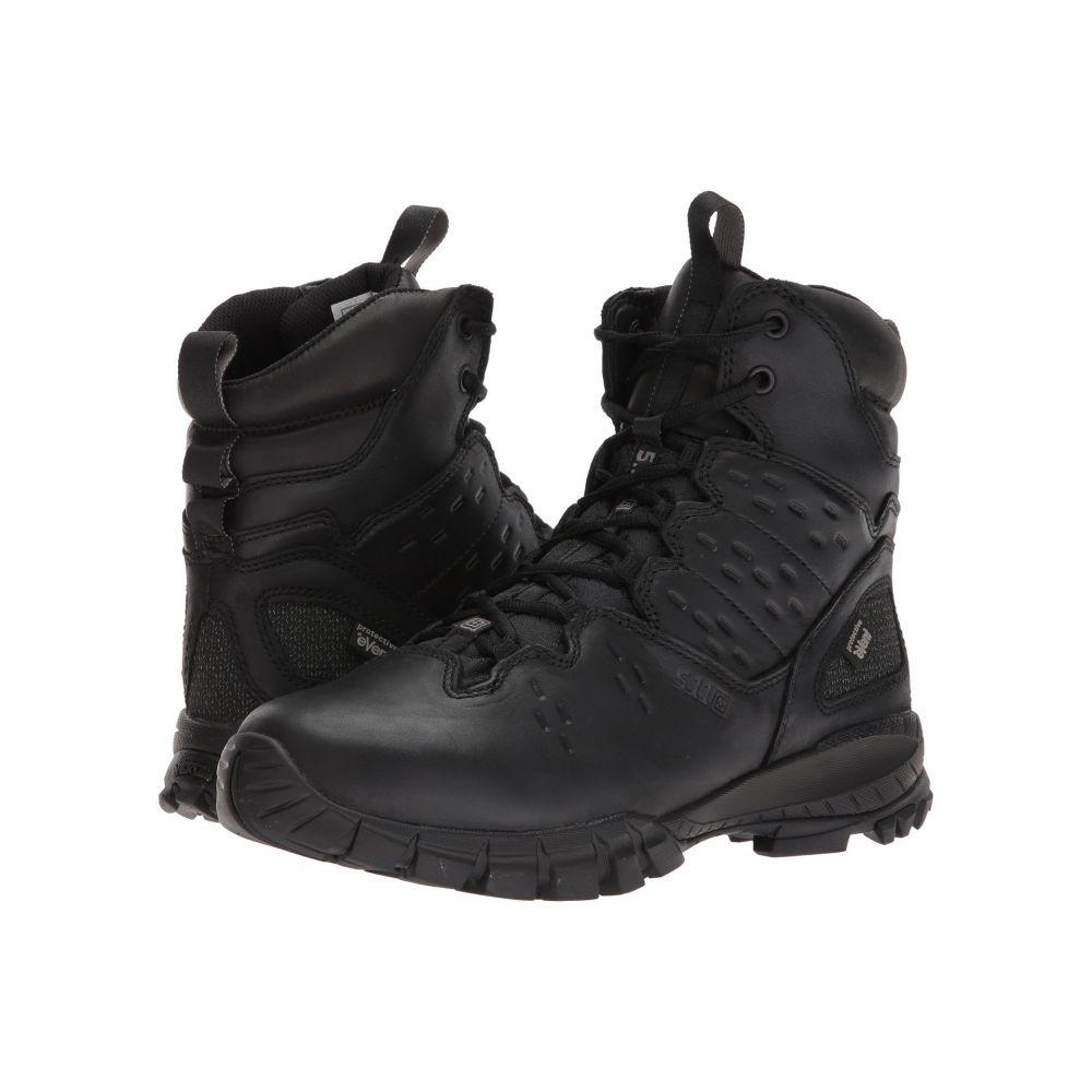 5.11 タクティカル 5.11 Tactical メンズ ブーツ シューズ・靴【XPRT 3.0 Waterproof 6' Boot】Black