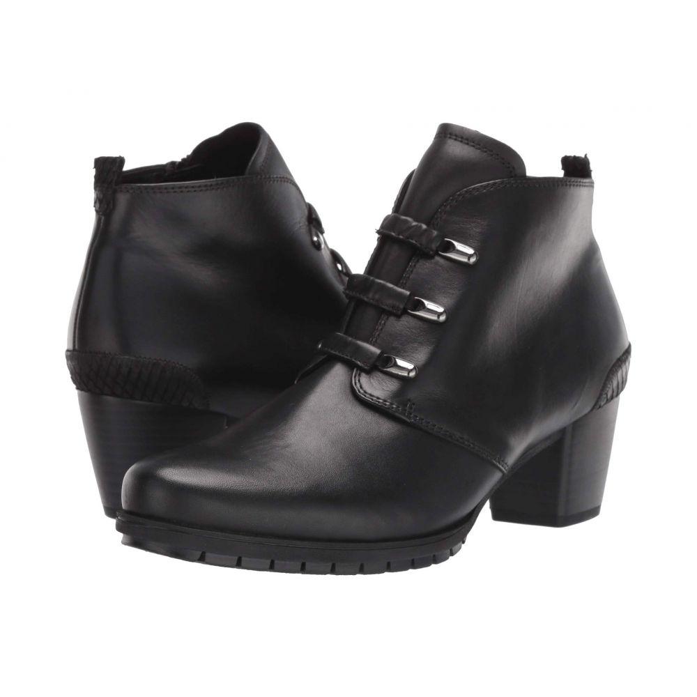 ガボール Gabor レディース ブーツ シューズ・靴【36.605】Black Foulard/Cobra