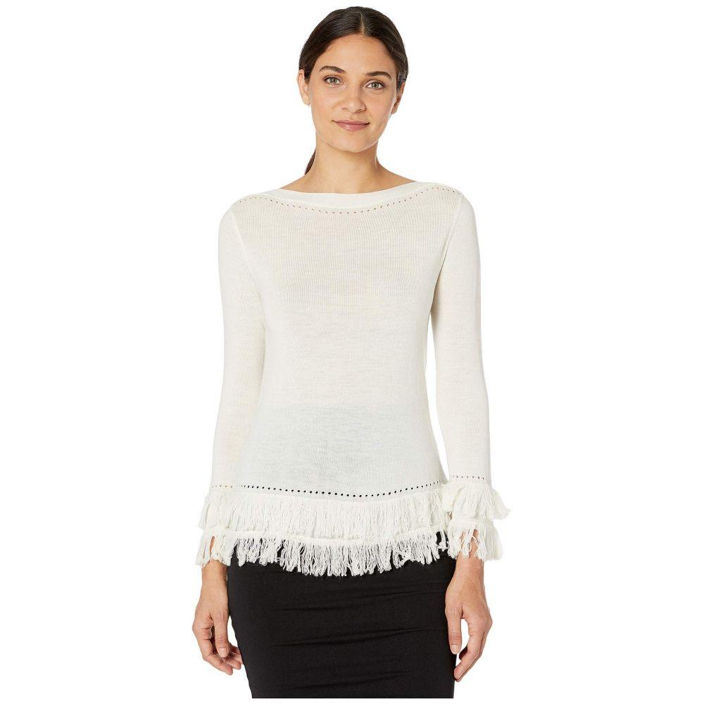 トリーナ ターク Trina Turk レディース ニット・セーター トップス【Suez Sweater】Winter White