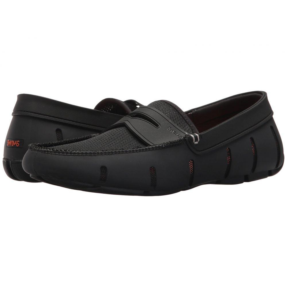 スウィムス SWIMS メンズ ローファー シューズ・靴【Penny Loafer】Black