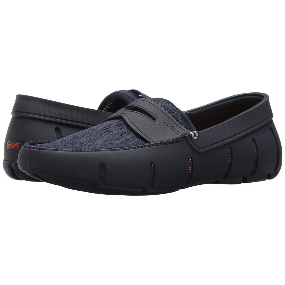 スウィムス SWIMS メンズ ローファー シューズ・靴【Penny Loafer】Navy