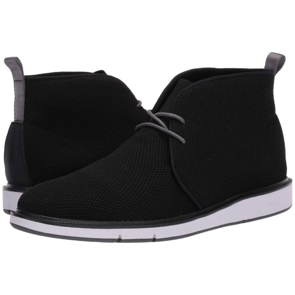 スウィムス SWIMS メンズ ブーツ チャッカブーツ シューズ・靴【Motion Knit Chukka】Black/Gray