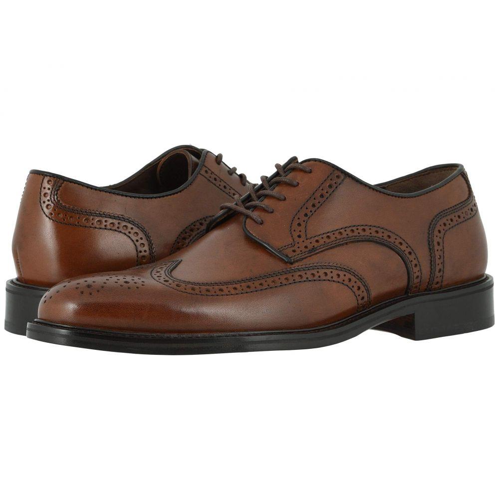 ジョンストン&マーフィー Johnston & Murphy メンズ 革靴・ビジネスシューズ ウイングチップ シューズ・靴【Daley Wing Tip】Tan Full Grain
