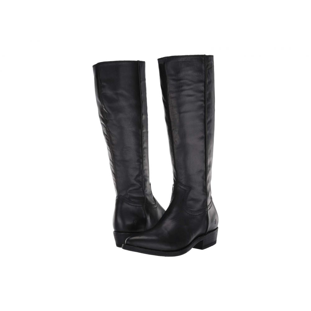 フライ Frye レディース ブーツ シューズ・靴【Billy Inside Zip Tall】Black Full Grain Leather