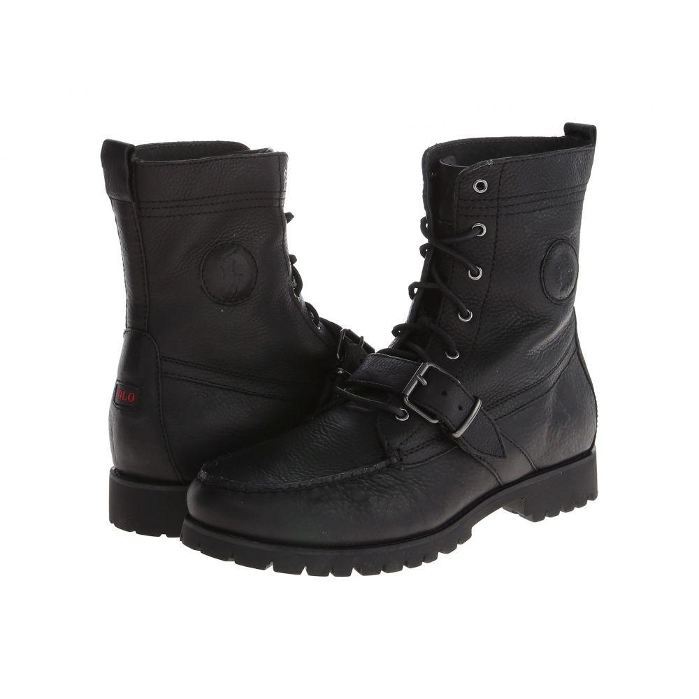 ラルフ ローレン Polo Ralph Lauren メンズ ブーツ シューズ・靴【Ranger】Black Pull Up Grain Leather