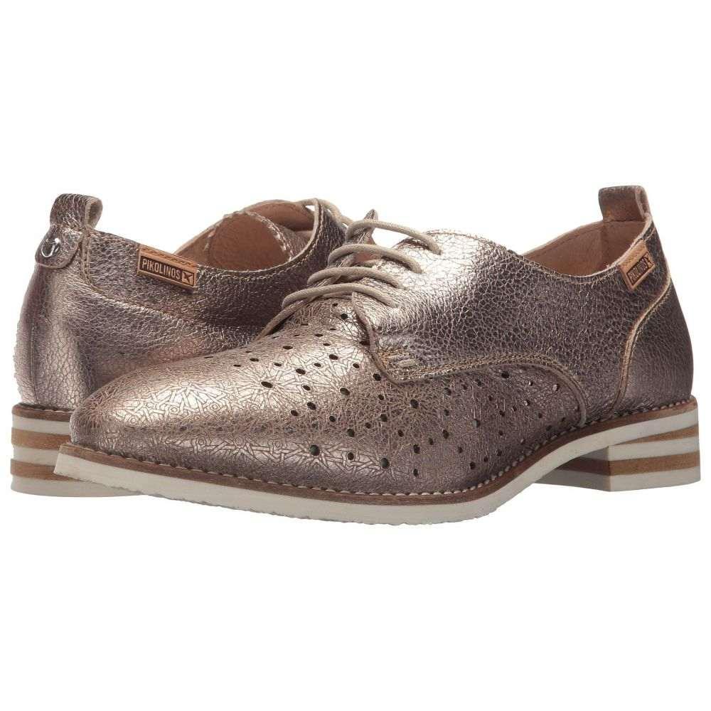 ピコリノス Pikolinos レディース ローファー・オックスフォード シューズ・靴【Royal W3S-5777CL】Stone