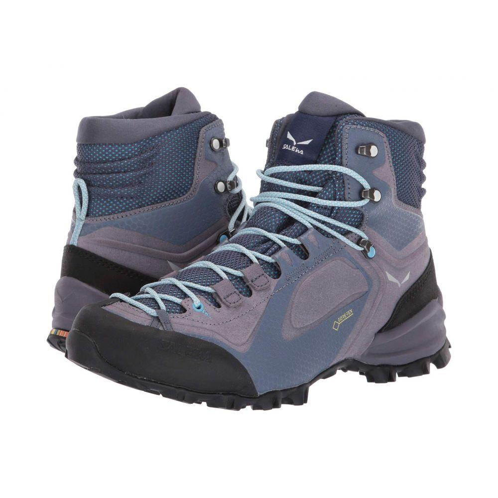 サレワ SALEWA レディース ハイキング・登山 シューズ・靴【Alpenviolet Mid GTX】Grisaille/Ethernal Blue