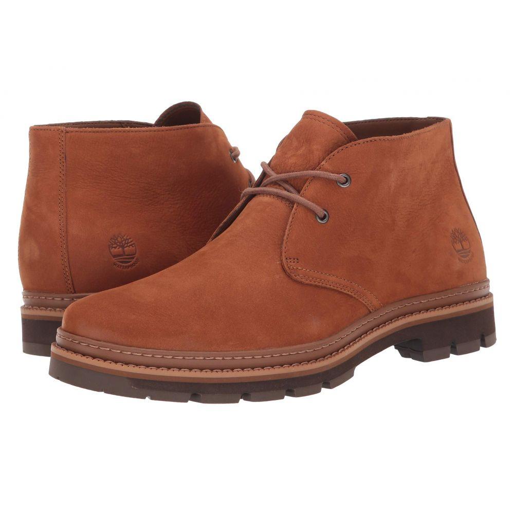 ティンバーランド Timberland メンズ ブーツ チャッカブーツ シューズ・靴【Port Union Waterproof Chukka】Rust Nubuck