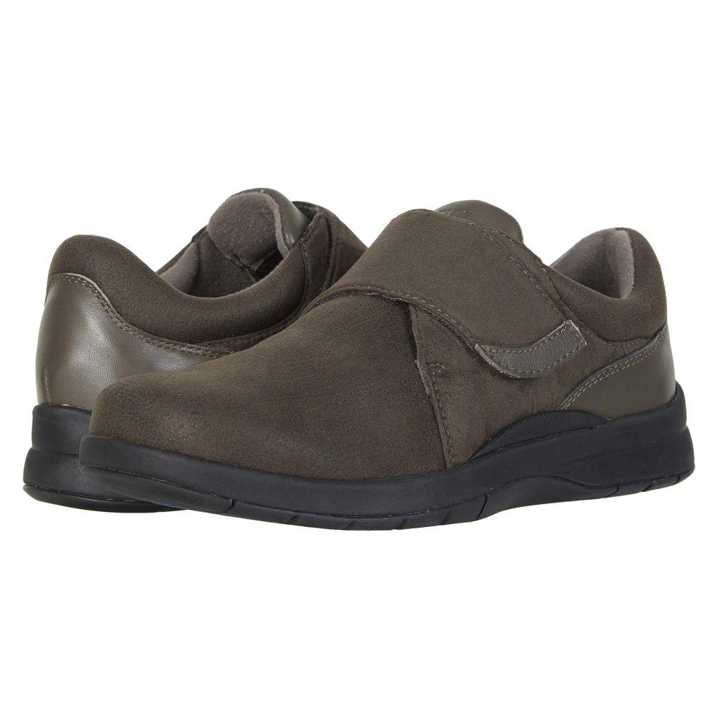 ドリュー Drew レディース ローファー・オックスフォード シューズ・靴【Moonwalk】Olive Stretch/Leather
