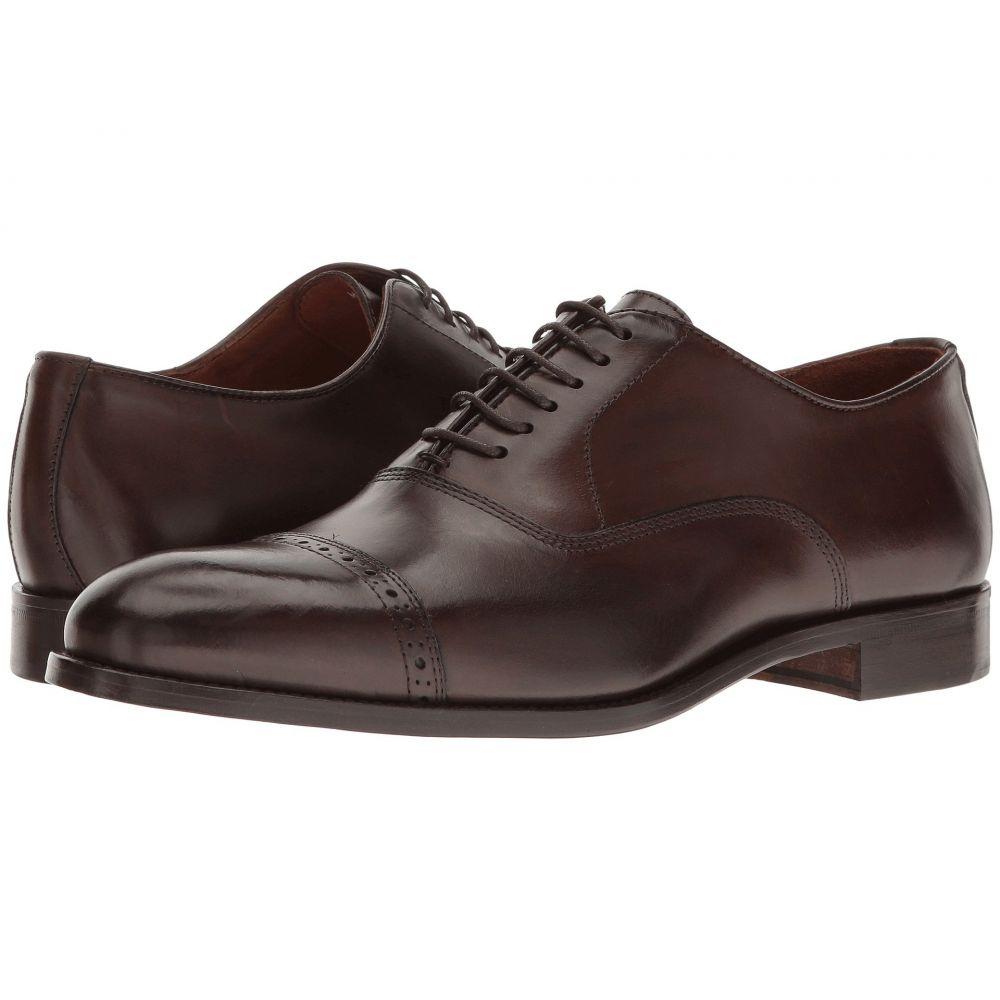 マッテオ マッシモ Massimo Matteo メンズ 革靴・ビジネスシューズ シューズ・靴【6-Eye Bal Cap Toe】Brown