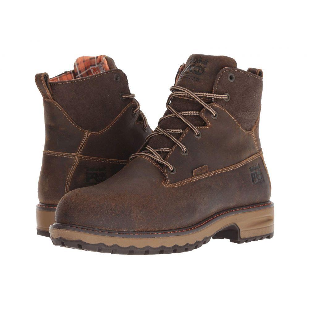 ティンバーランド Timberland PRO レディース ブーツ シューズ・靴【Hightower 6' Safety Toe WP 400 Insulated】Brown Distressed