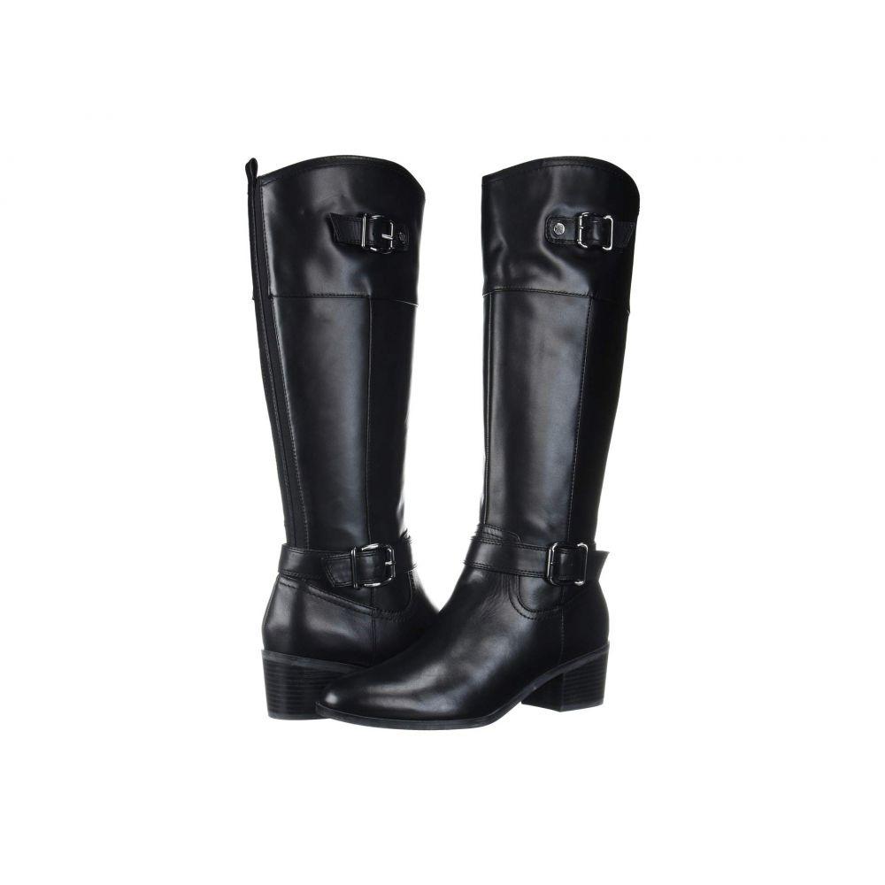 バンドリーノ Bandolino レディース ブーツ シューズ・靴【Pries Wide Calf】Black Leather