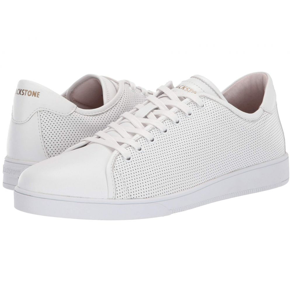 ブラックストーン Blackstone メンズ スニーカー ローカット シューズ・靴【Low Sneaker Perf - RM40】White