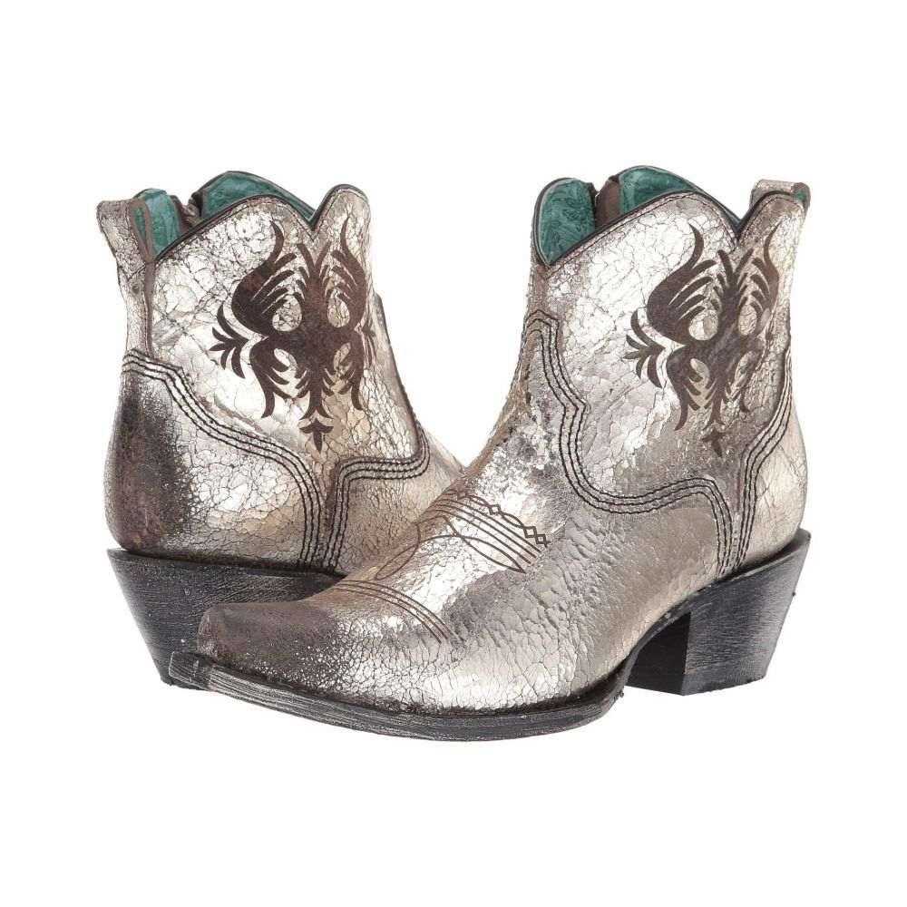 コラル Corral Boots レディース ブーツ シューズ・靴【G1476】Silver