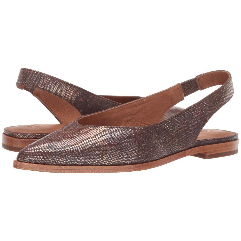 フライ Frye レディース スリッポン・フラット シューズ・靴【Kenzie Slingback】Multi Metallic Foil Embossed Leather