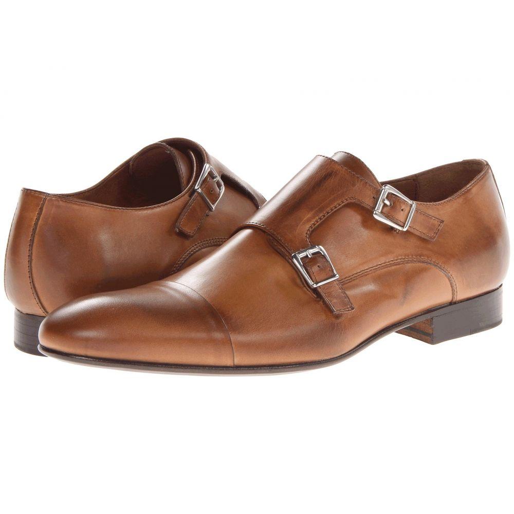 マッテオ マッシモ Massimo Matteo メンズ 革靴・ビジネスシューズ シューズ・靴 Dbl Monk Cap Toe Brandy3L54AcRjq