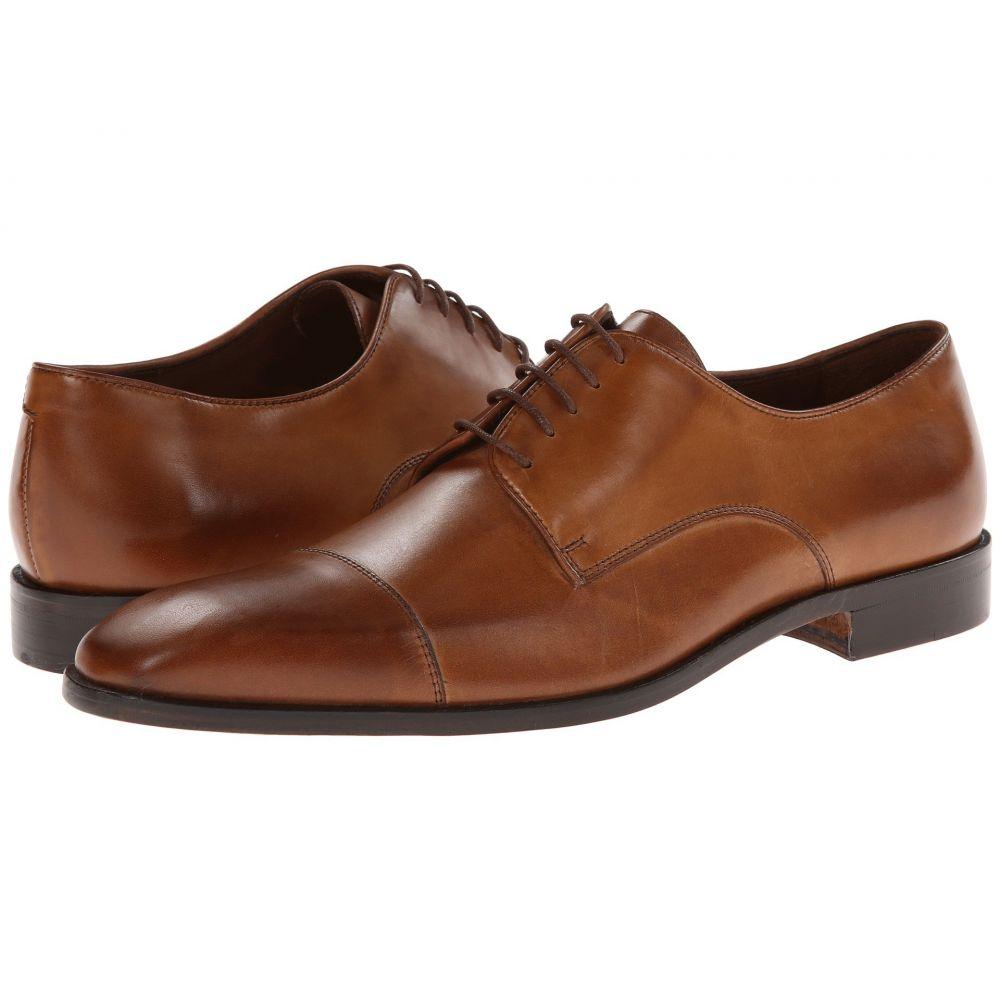 マッテオ マッシモ Massimo Matteo メンズ 革靴・ビジネスシューズ シューズ・靴【5-Eye Cap Toe】Brandy/Burnish Toe