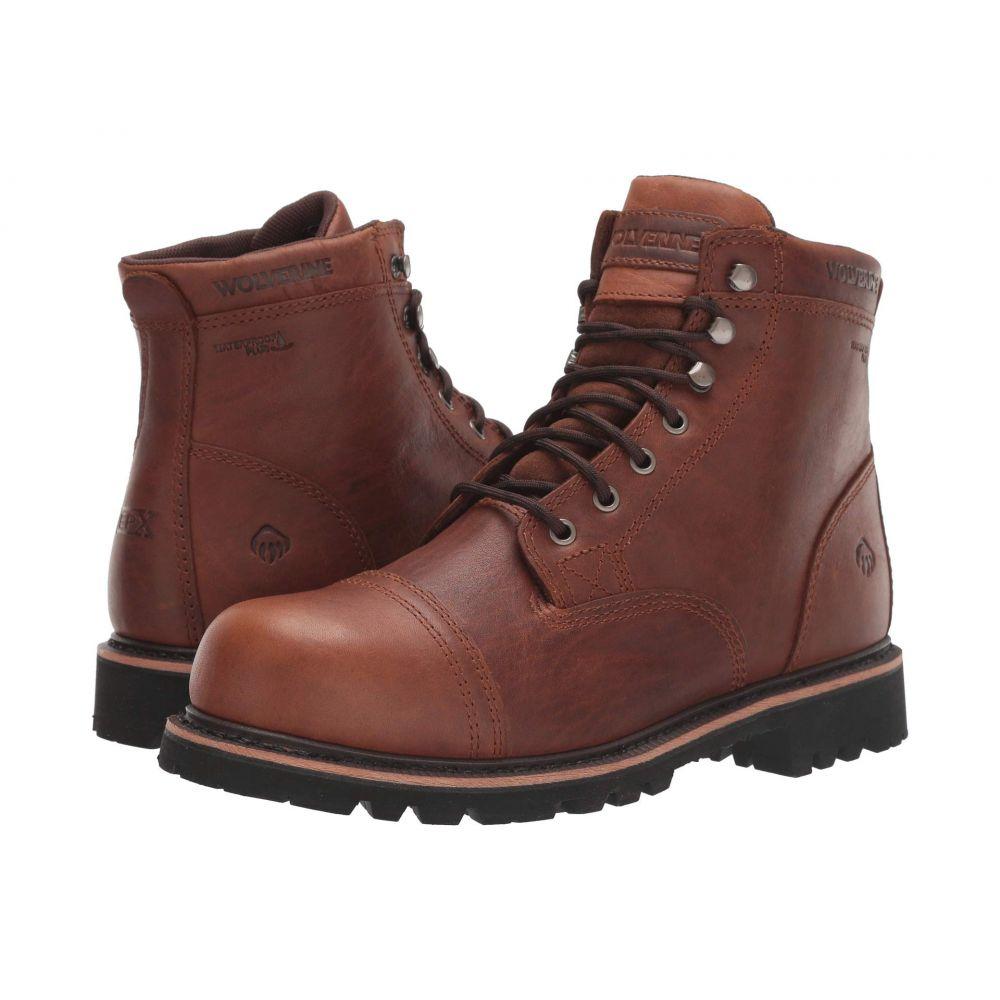 ウルヴァリン Wolverine メンズ ブーツ シューズ・靴【Journeyman 6' Boot】Brown