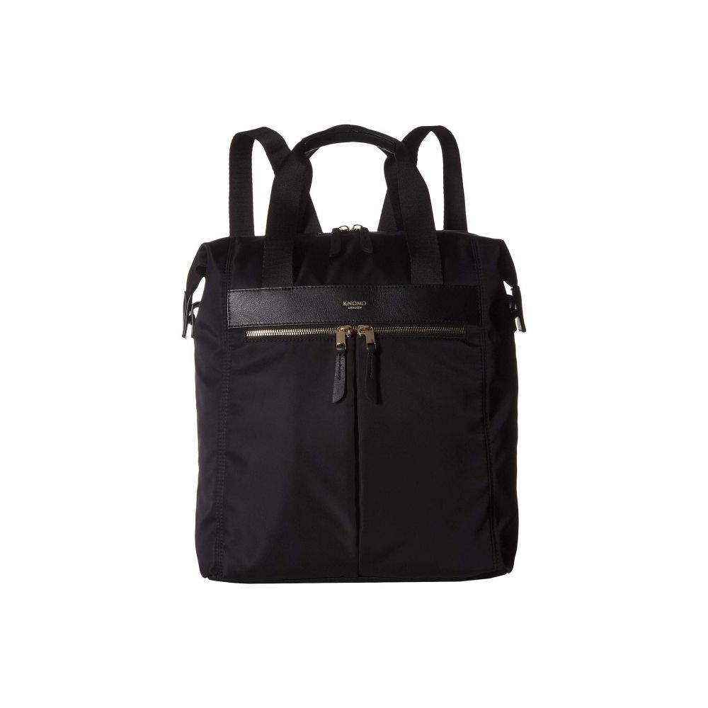 モノ KNOMO London レディース バックパック・リュック バッグ【13' Mini Chiltern Totepack】Black