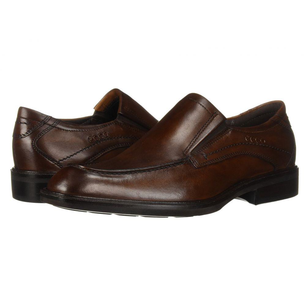 エコー ECCO メンズ スリッポン・フラット シューズ・靴【Windsor Apron Slip-On】Amber