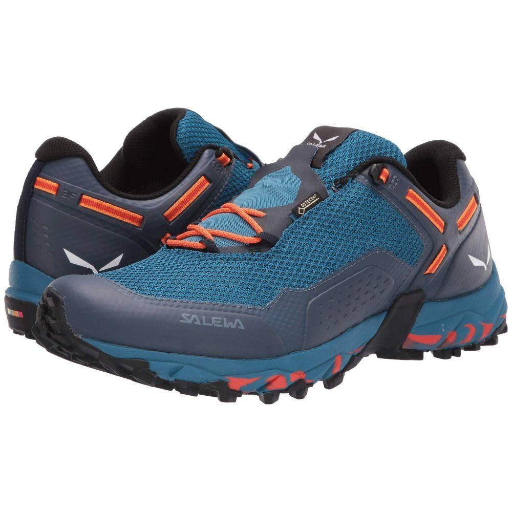 サレワ SALEWA メンズ ハイキング・登山 シューズ・靴【Speed Beat GTX】Premium Navy/Spicy Orange