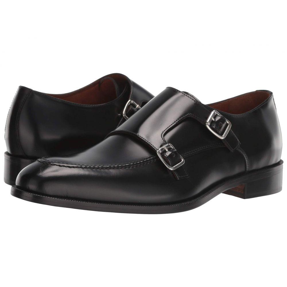 マッテオ マッシモ Massimo Matteo メンズ 革靴・ビジネスシューズ シューズ・靴【Veneto Double Monk】Black Veneto Leather