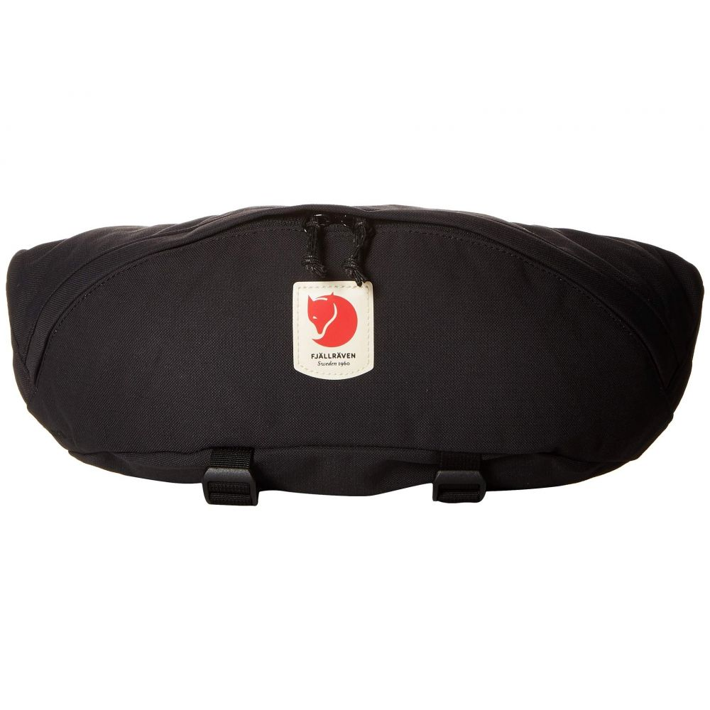 フェールラーベン Fjallraven レディース ボディバッグ・ウエストポーチ ウエストバッグ バッグ【Ulvo Hip Pack Large】Black