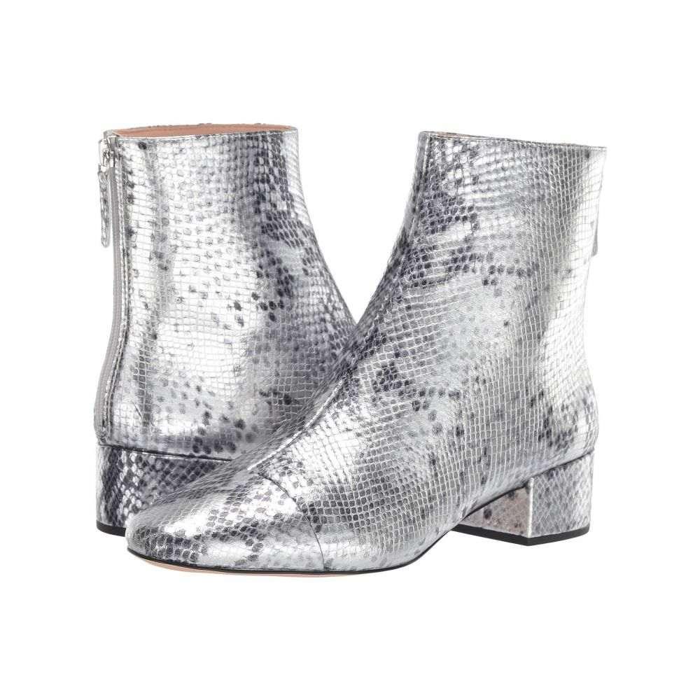ジェイクルー J.Crew レディース ブーツ シューズ・靴【Metallic Snake Leona Boot】Metallic Silver