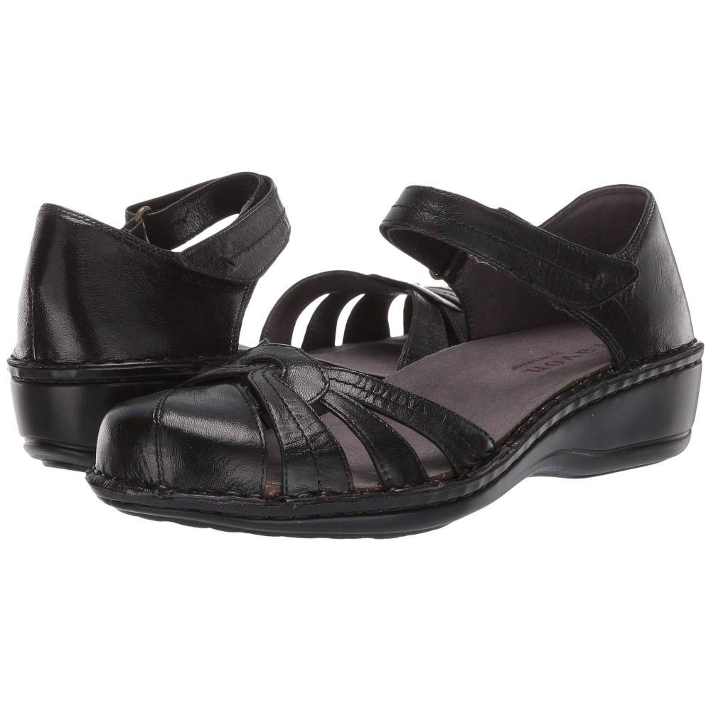 アラヴォン Aravon レディース ヒール シューズ・靴【Clarissa】Black Leather