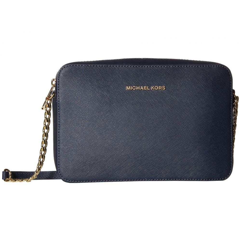 マイケル コース MICHAEL Michael Kors レディース ショルダーバッグ バッグ【Jet Set Travel Large East/West Crossbody】Admiral