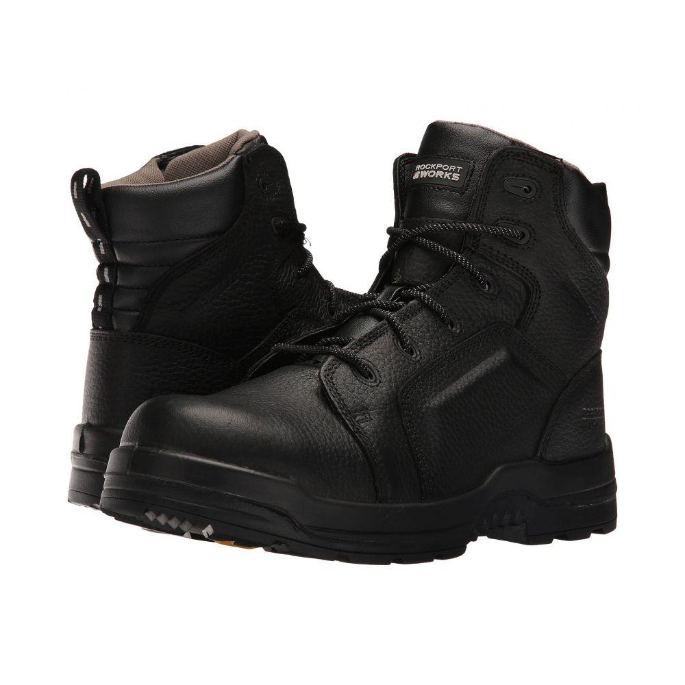 Energy】Black Rockport ブーツ Works ロックポート シューズ・靴【More メンズ