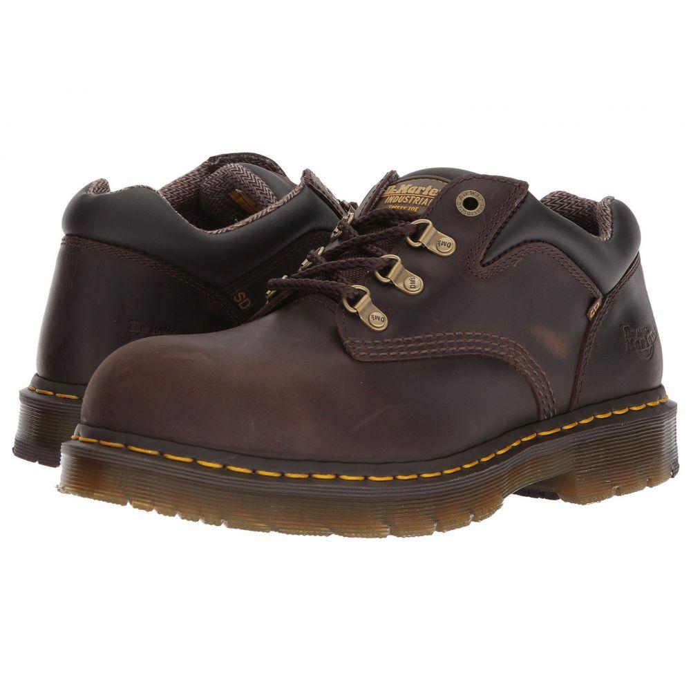 ドクターマーチン Dr. Martens Work レディース ローファー・オックスフォード シューズ・靴【Hylow Steel Toe】Gaucho