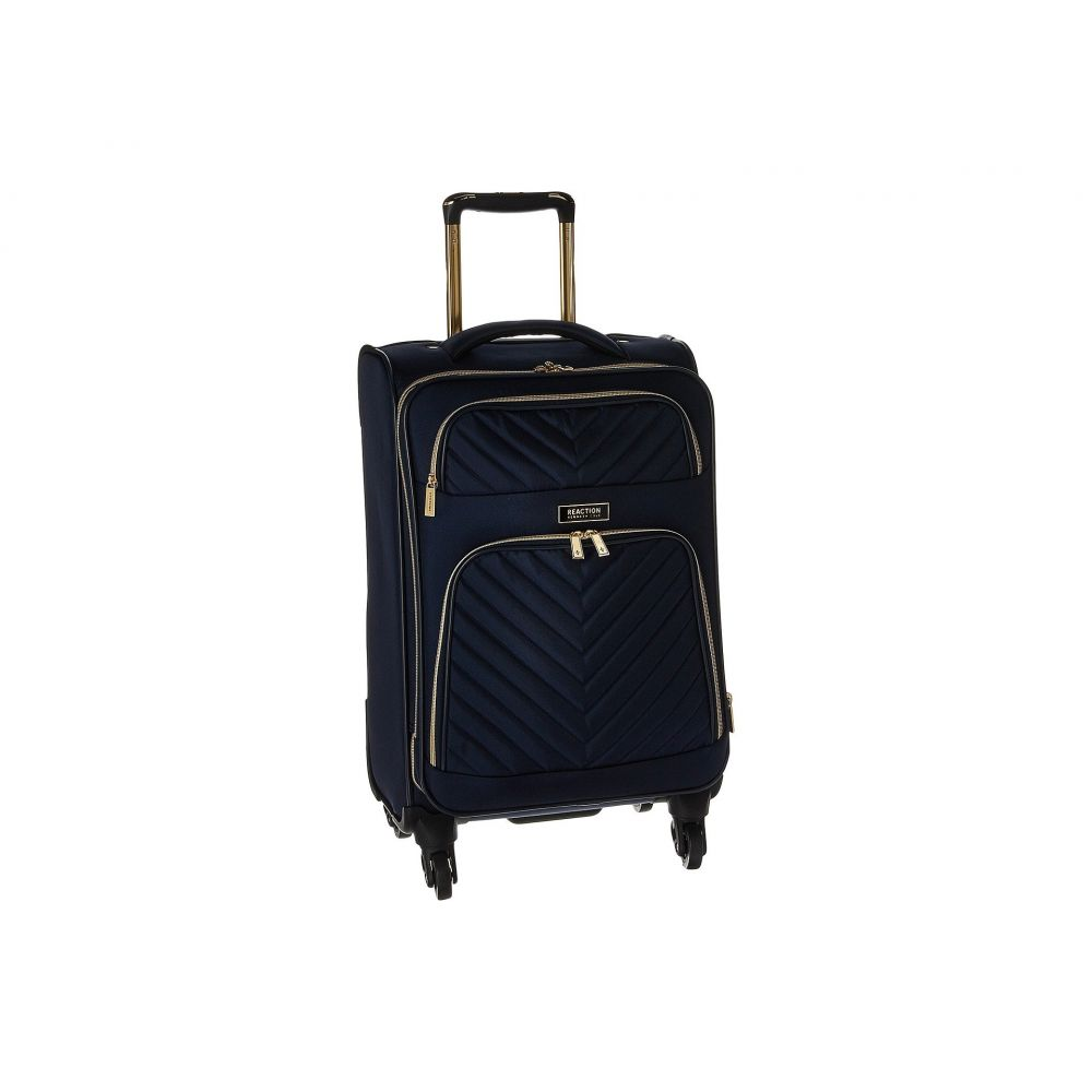ケネス コール Kenneth Cole Reaction レディース スーツケース・キャリーバッグ バッグ【Chelsea - 20' Quilted Expandable 4-Wheel Upright Carry On】Navy