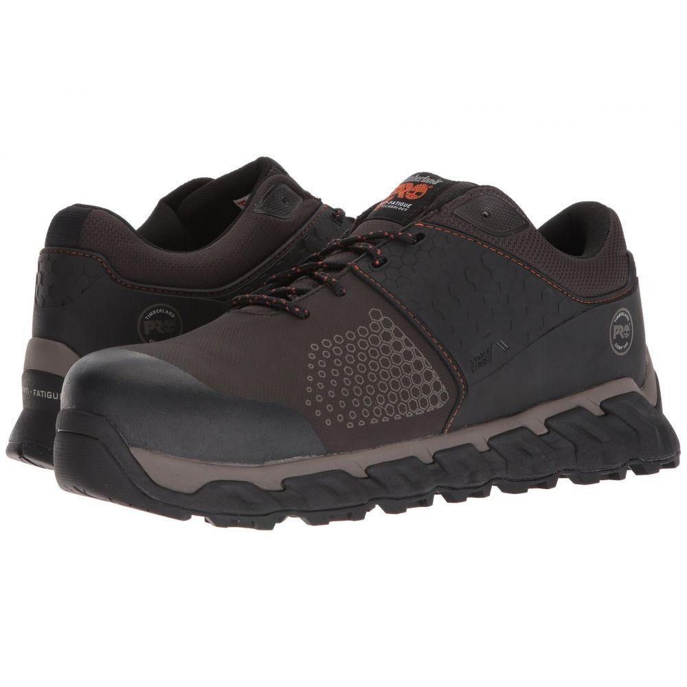 ティンバーランド Timberland PRO メンズ シューズ・靴 【Ridgework Composite Safety Toe Low】Brown