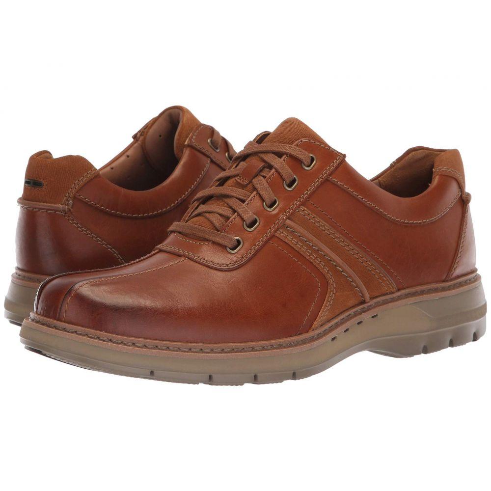クラークス Clarks メンズ 革靴・ビジネスシューズ シューズ・靴【Un Ramble Go】Dark Tan Leather