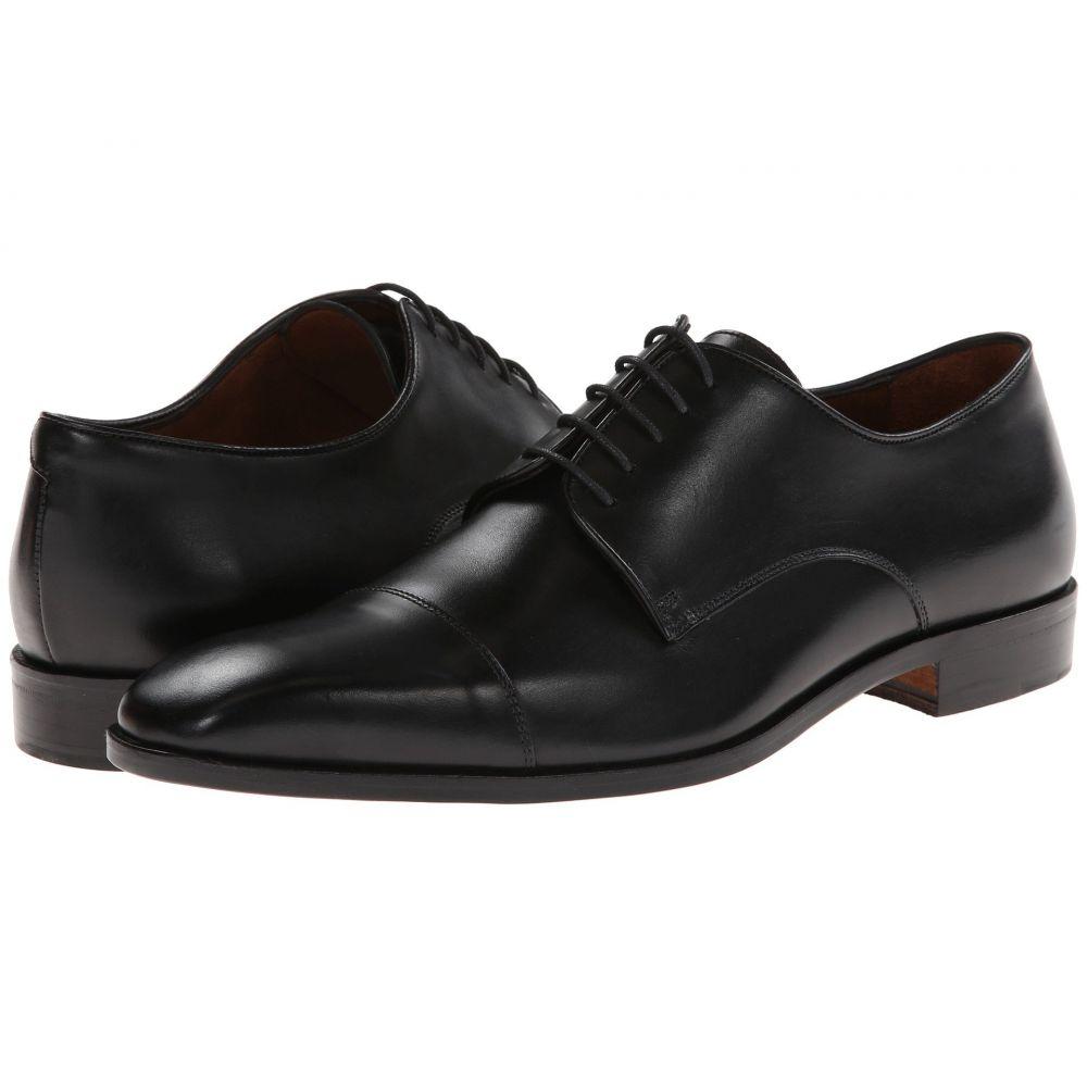 マッテオ マッシモ Massimo Matteo メンズ 革靴・ビジネスシューズ シューズ・靴【5-Eye Cap Toe】Black