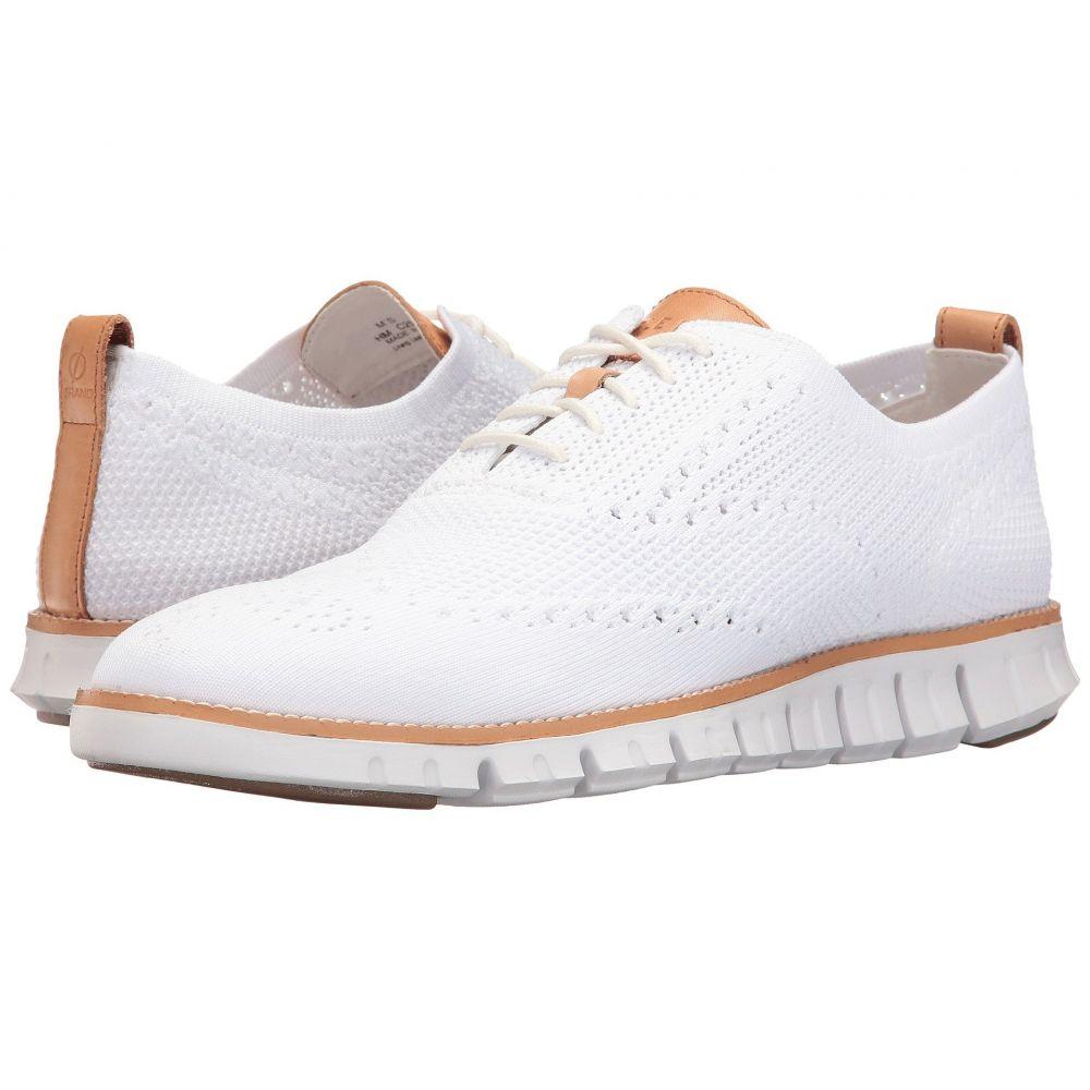 コールハーン Cole Haan メンズ 革靴・ビジネスシューズ シューズ・靴【Zerogrand Stitchlite Oxford】Optic White/White
