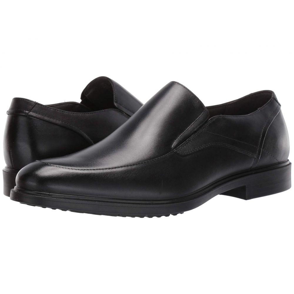 ハッシュパピー Hush Puppies メンズ スリッポン・フラット シューズ・靴【Turner MT Slip-On】Black Waterproof Leather