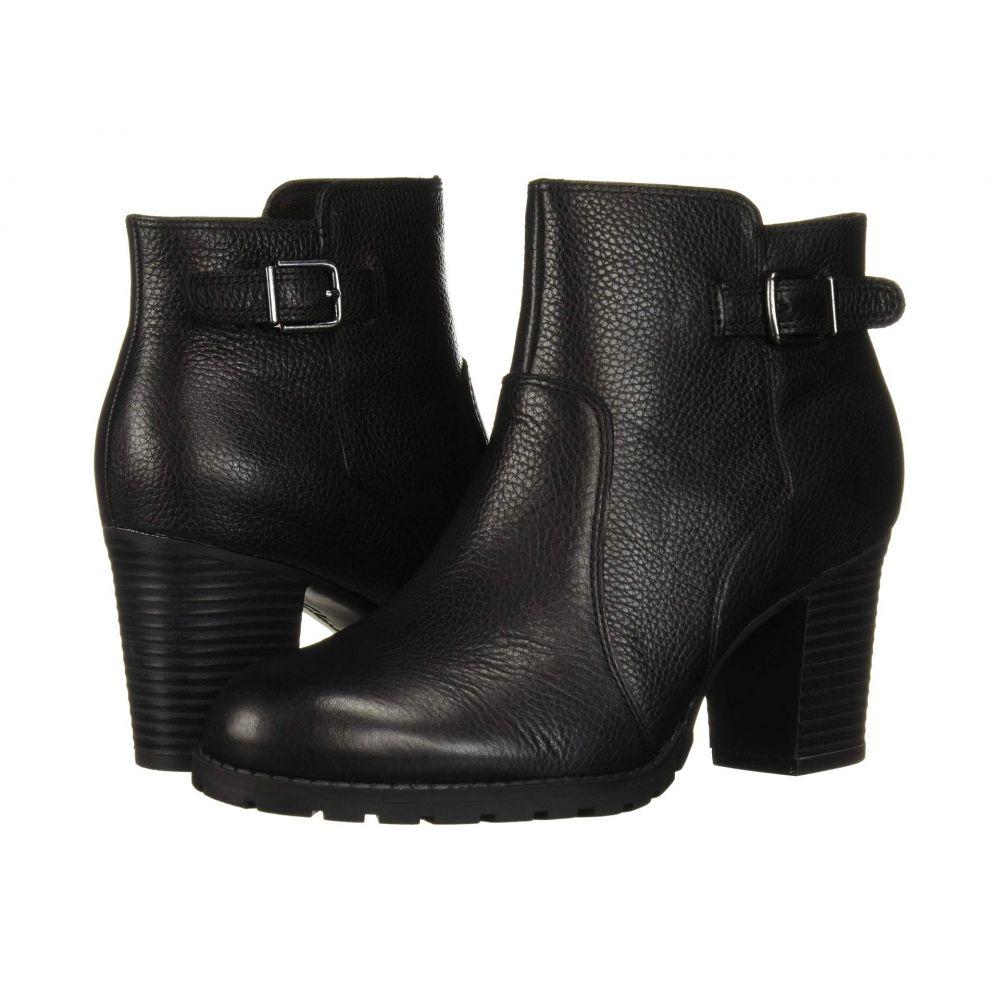 クラークス Clarks レディース ブーツ シューズ・靴【Verona Gleam】Black Leather