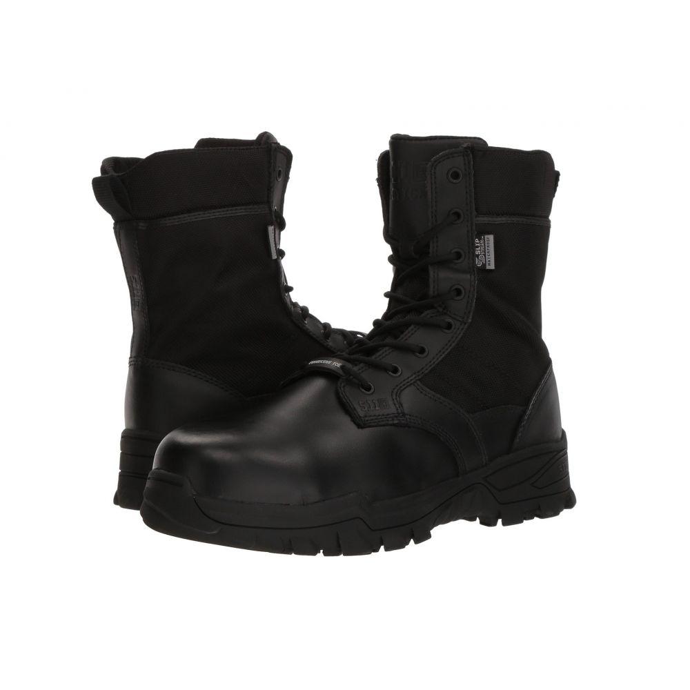 5.11 タクティカル 5.11 Tactical メンズ ブーツ シューズ・靴【Speed 3.0 8' Shield (CST) Boot】Black
