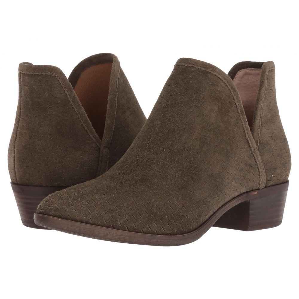 ラッキーブランド Lucky Brand レディース ブーツ シューズ・靴【Baley】Dark Olive Suede