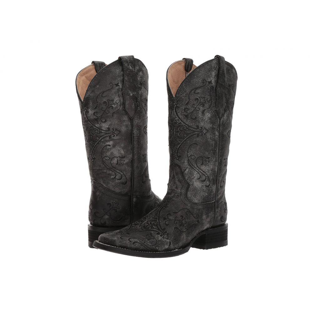 コラル Corral Boots レディース ブーツ シューズ・靴【L5252】Black/Grey