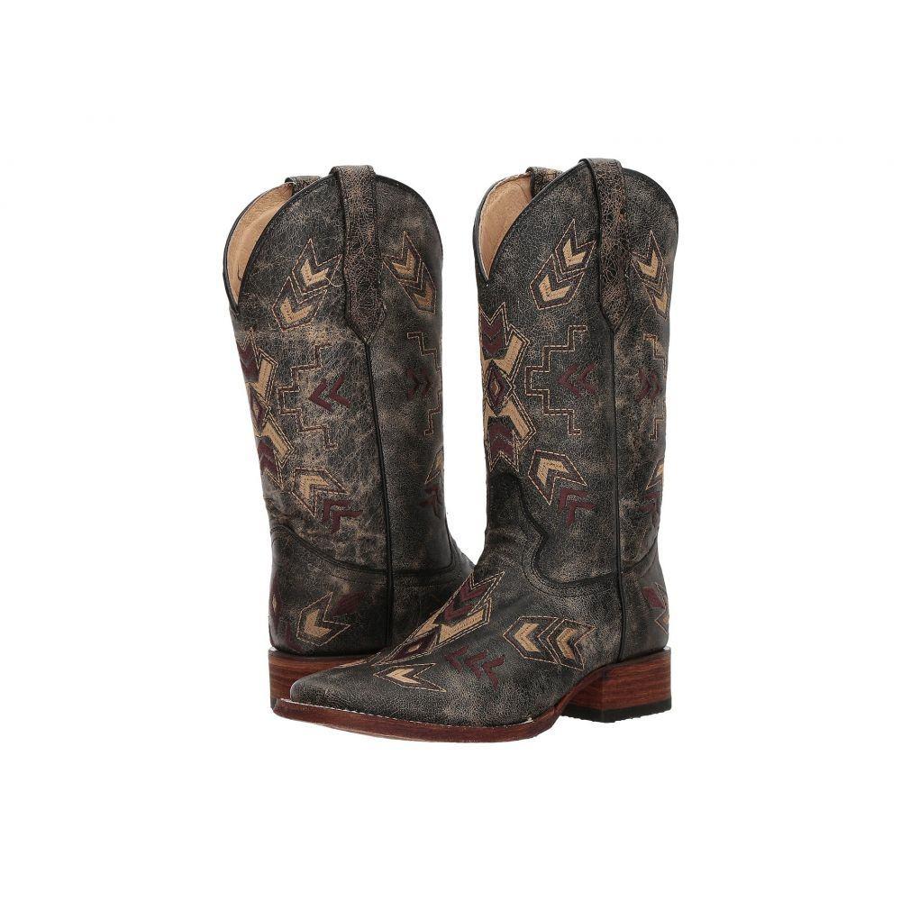 コラル Corral Boots レディース ブーツ シューズ・靴【L5253】Black/Bone