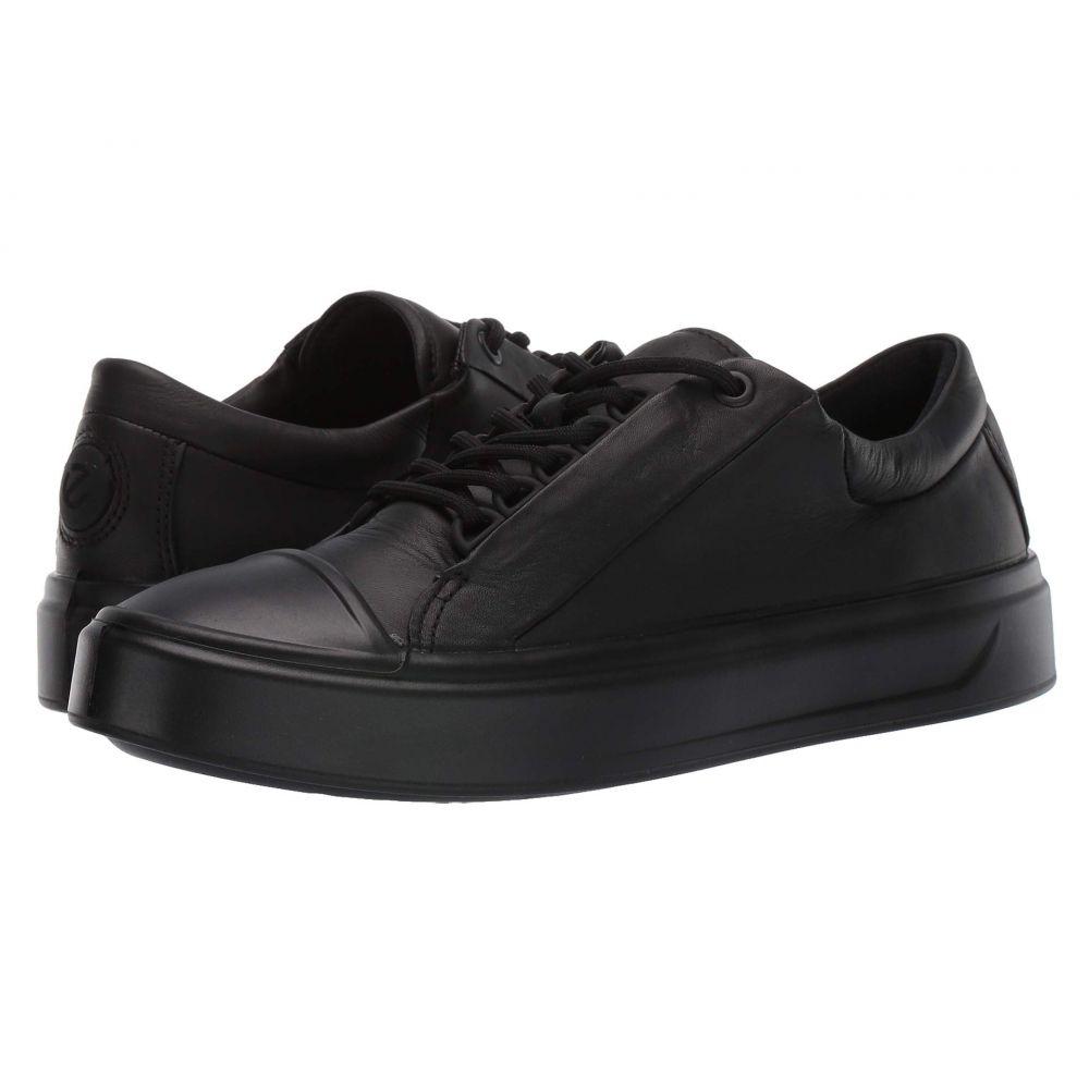 エコー ECCO レディース スニーカー シューズ・靴【Flexure T-Cap Sneaker】Black