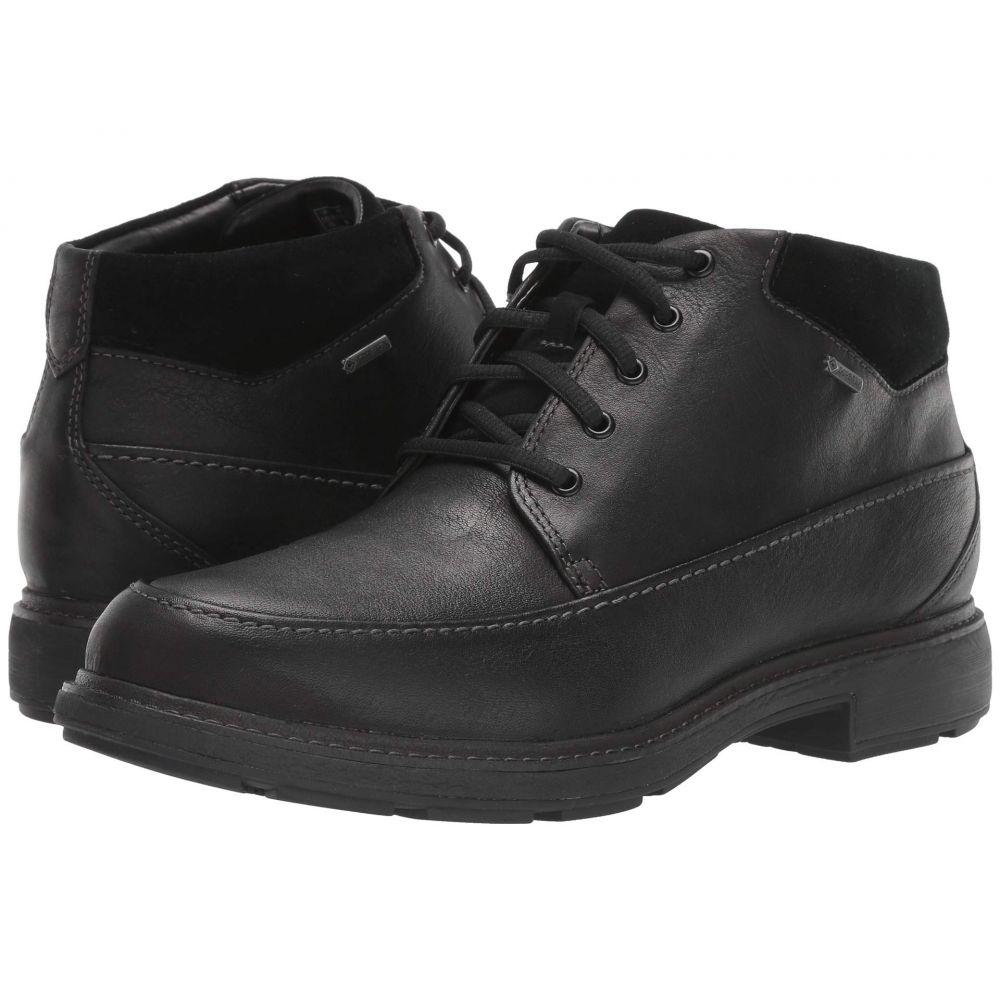 クラークス Clarks メンズ ブーツ シューズ・靴【Un Tread OnGTX】Black Leather