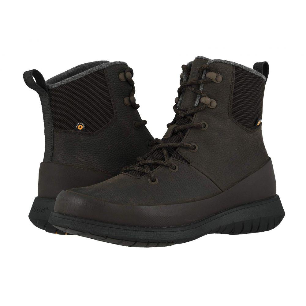 ボグス Bogs メンズ ブーツ シューズ・靴【Freedom Lace Tall】Dark Brown
