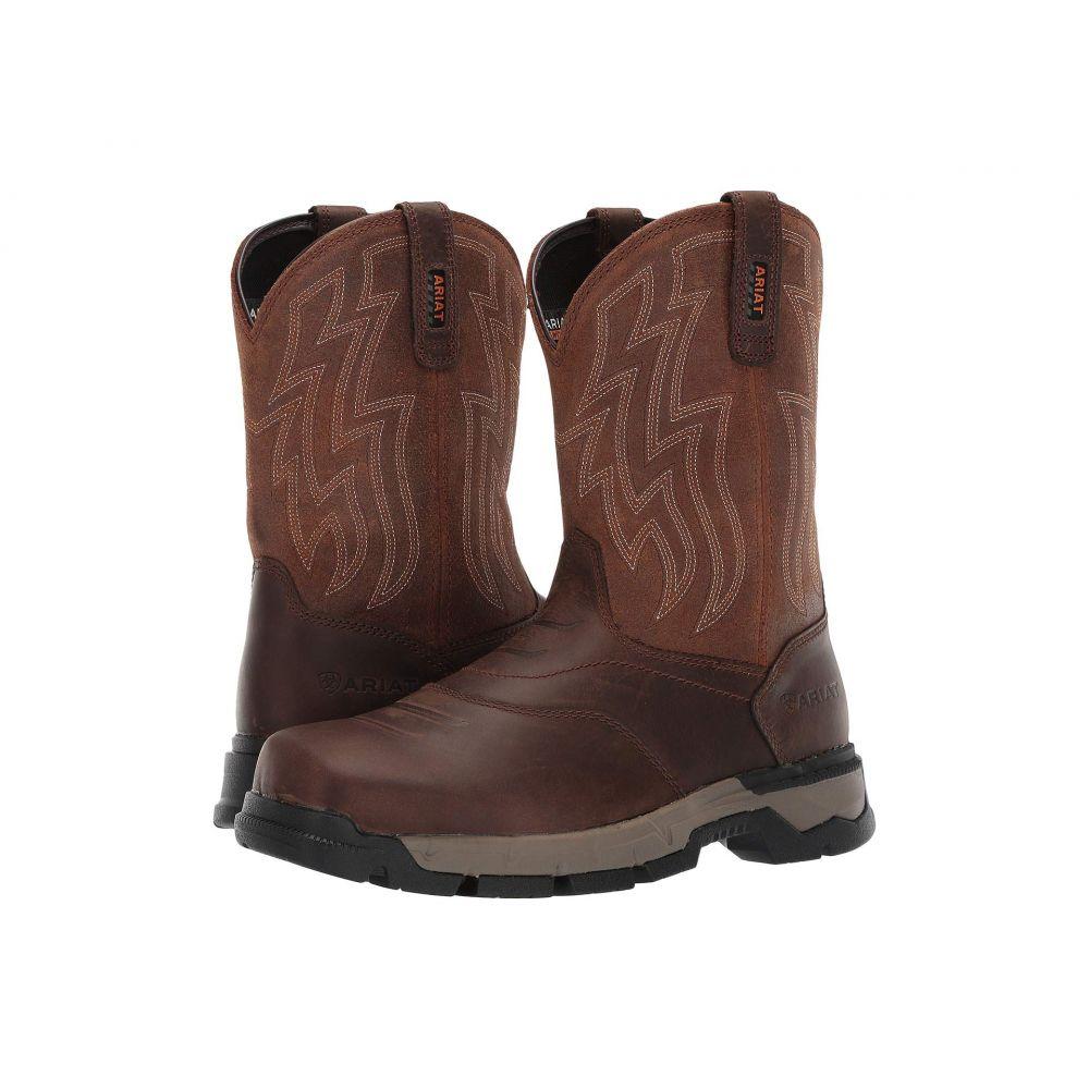 アリアト Ariat メンズ ブーツ シューズ・靴【Rebar Flex Western】Brown