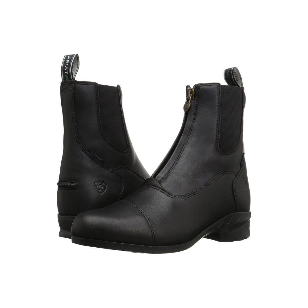 アリアト Ariat レディース ブーツ シューズ・靴【Heritage IV Zip H2O】Black